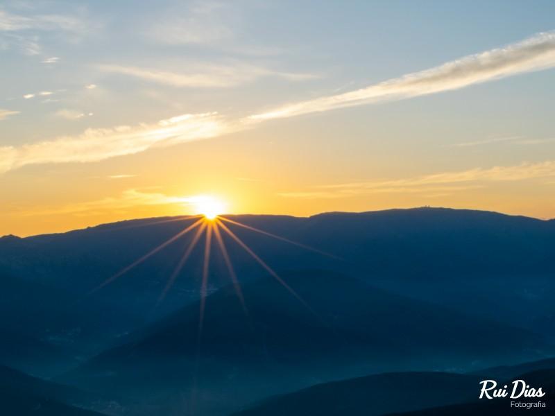 Amanhecer no Monte Colcurinho (manhã)