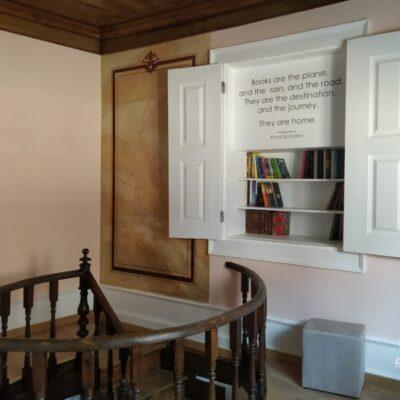 Sala de leitura EntreSocalcos